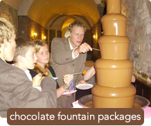 See our Chocolate Fountain Packages
