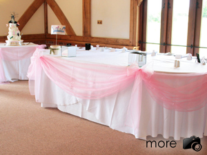 Wedding table runners swagging somerset cotswolds dorset table runners and swags junglespirit Image collections